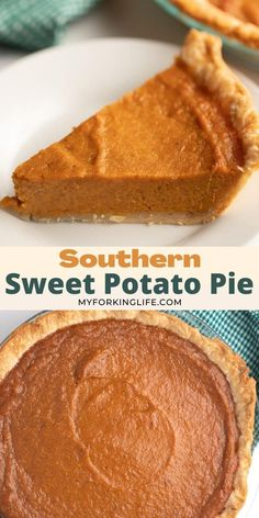 Thanksgiving Desserts Easy, Holiday Desserts, Holiday Baking, Just Desserts, Delicious Desserts, Yummy Food, Thanksgiving Sweet Potato Recipes, Thanksgiving Meal, Weight Loss Meals