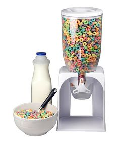 This Cereal Dispenser is perfect! #zulilyfinds