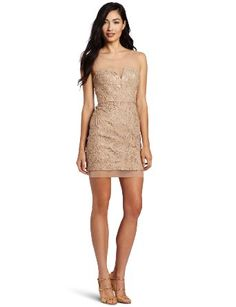 Amazon.com: BCBGMAXAZRIA Women's Abigail Knit Evening Dress: Clothing