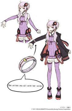 Yuzuki Yukari - yuzuki-yukari Photo || Dire need to cosplay this, this actually helps quite a bit c: