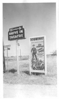 Belknap Drive-In in Fort Worth, Texas: Entrance Hollywood Sign, Old Hollywood, Old Fort, Drive In Theater, Across The Border, Fort Worth Texas, Texas History, Texas Travel, Haunted Places