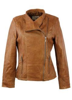 Tan Biker Style Leather Jacket -  https://www.fruugo.co.uk/biker-style-leather-jacket-in-tan/p-4078143