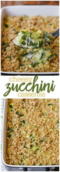 Cheesy Zucchini Cass