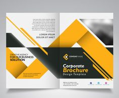 Discover thousands of Premium vectors available in AI and EPS formats Brochure Indesign, Template Brochure, Brochure Layout, Business Flyer Templates, Page Layout Design, Magazine Layout Design, Broucher Design, Banner Design Inspiration, Brochure Design Inspiration