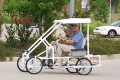 PVC Pedal Car, cool!