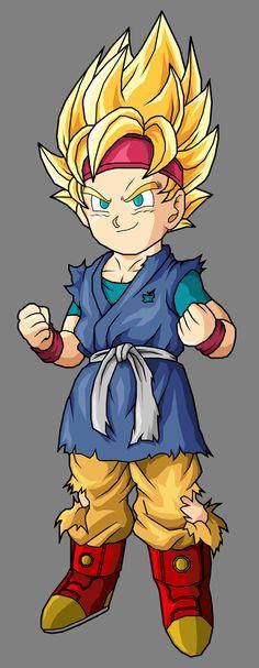 Goku el descendiente