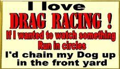 NHRA not NASCAR