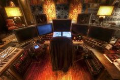 Hans Zimmer's Office and Production Studio