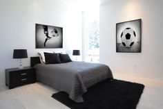Kids Soccer Room art, Soccer Ball Kick Photo Print, Vintage Soccer decor, Great for Teen or Toddler Bedroom Boys Soccer Bedroom, Boys Bedroom Decor, Teen Bedroom, Boy Room, Kids Soccer, Soccer Ball, Soccer Decor, Home Designer, Living Room Flooring
