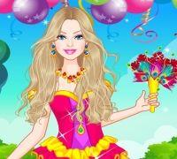 Barbie Renkli Gelinlikler