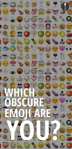 Which obscure food emoji are you?