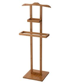 Brown bamboo clothes rack  Sale - Compactor Sale