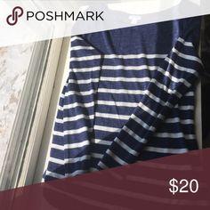 Long sleeve striped shirt Navy and cream long sleeve striped shirt Old Navy Tops Tees - Long Sleeve
