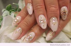 Awesome long nail art idea for ladies