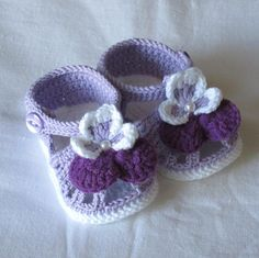 Crochet baby shoes,Crochet baby sandals,Crochet baby booties,Crochet pansy sandals,Crochet pansy booties