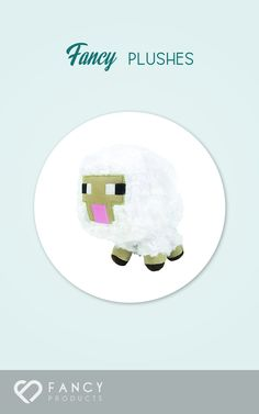 9.21$ - Minecraft Baby Sheep Plush from Minecraft- From the hit video game- Minecraft- come Baby Sheep plush! These Overworld Animal Mobs are fun for all ages!