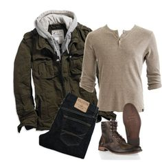 """""""Cool Stroll"""" by elise-olivia on Polyvore: Outdoor sportsman with style"""