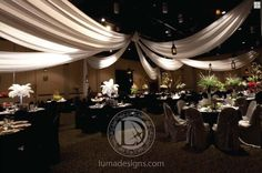Looking for some specialty draping or lighting for your upcoming wedding, reception or other wedding related celebration? If you're in the Chattanooga area then be sure and click the image above and check out Luma Designs. Photo credit: LumaDesigns.com