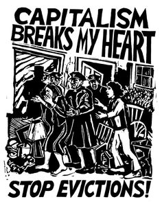 "postersofberlin: ""Capitalism breaks my heart, stop evictions! – found in Kreuzberg "" Protest Art, Protest Posters, Political Posters, Political Art, Anti Capitalism, Communism, Activist Art, Anarchism, Riot Grrrl"
