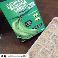 Excelente dica para você guardar e utilizar a Biomassa de Banana Verde! Compre online aqui no Empório Ecco e receba em casa!