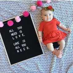 3 Month Old Baby Pictures, Milestone Pictures, Monthly Baby Photos, Monthly Pictures, Disney Princess Babies, Baby Messages, Baby Christmas Photos, Baby Letters, Valentines Day Baby