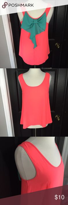 MM Bow Tank Top Size M , MM  Tops Tank Tops