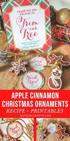 Looking for a great homemade gift idea or Christmas party activity? These Apple Cinnamon Christmas Ornaments are such a holiday classic. They are so easy to make and fun to decorate! Such a great holiday craft for kids too! Head to justaddconfetti.com for the recipe and be sure to check out all of my other Christmas party ideas and gift ideas!