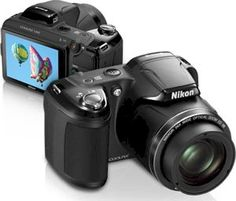 Nikon COOLPIX L810  16.1 MP Digital Camera with 26x Zoom NIKKOR ED Glass Lens and 3 inch LCD (Black) The COOLPIX L810, with its incredible image quality, great zoom range and ease-of-use, will bring you photographic enjoyment for years to come. The 26x zoom captures high-resolution images, shot after shot for a broad variety of views - 22.5mm wide-angle landscapes to 585mm telephoto shots, capturing action near or far. SALE PRICE $196.95 US