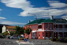 Commercial Hotel, main street, Roxburgh, Central Otago, South Island, New Zealand