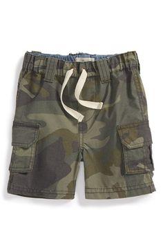 Peek 'Explorer' Camo Cargo Shorts (Baby Boys) available at #Nordstrom