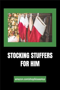 The Best Stocking Stuffer Gift Guide for Him on Amazon...check it out!