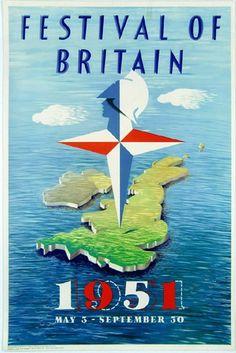 Festival of Britain poster, 1951.