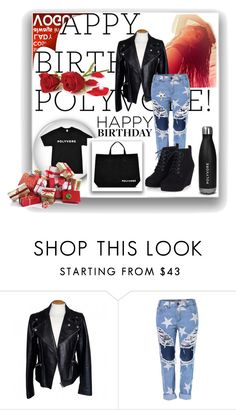 """happybirthdaypolyvore"" by jasmina-749 ❤ liked on Polyvore featuring Alexander McQueen, women's clothing, women, female, woman, misses, juniors, contestentry and happybirthdaypolyvore"