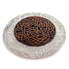 Celtic Knot Stepping Stone Outdoor Decor