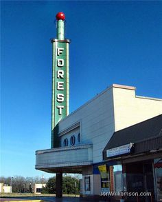 Forest Theater, Dallas http://cinematreasures.org/theaters/7593