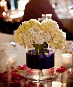 White Hydrangea Wedding Centerpieces White Wedding Centerpieces