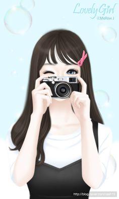 syafiqah enakei ❤ di 2019 рисунки, маркеры copic, dan р Cartoon Girl Images, Cute Cartoon Girl, Cute Love Cartoons, Anime Girl Cute, Anime Art Girl, Cute Girl Drawing, Cute Drawings, Anime Korea, Korean Anime