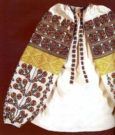 Embroidery of Zastawna county, Cherniwtsi oblast, Bukovyna, Ukraine Folk Embroidery, Embroidery Patterns, Ethnic Fashion, Fashion Art, Ukraine, Folk Costume, Costumes, Embroidery Techniques, Traditional Outfits