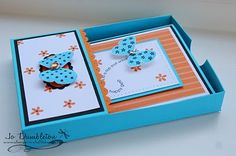 Stampin 'n Stuff: Desktop Card Holder Template and Tutorial