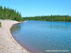 Agate Beach is a remote beach near Thunder Bay Ontario that's strewn with real agates, a stone believed to have special metaphysical qualities  such as purification and cleansing #Canada
