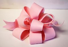 How to make a Poofy Bow {Fondant or Gum Paste}, Part 1
