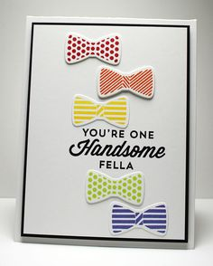 Terrific Ties, Terrific Ties Die-namics - Jody Morrow #mftstamps