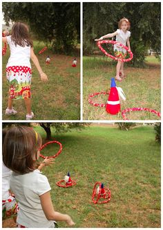 gnome hat ring toss for older kids