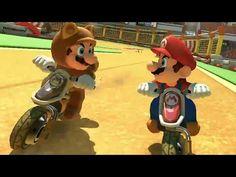 Mario Kart 8 DLC Excitebike Arena Gameplay (Wii U) 【HD】 - YouTube