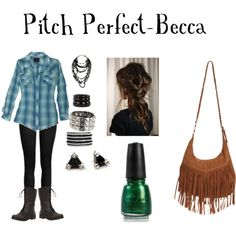 becca from pitch perfect | Pitch Perfect- Becca - Polyvore