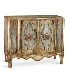 Lotus Two Drawer Cabinet