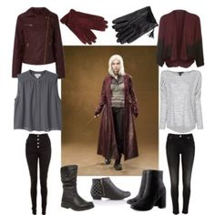 Tonks inspired outfit? Um...WANT!!!