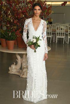 Brides: Oscar de la Renta Wedding Dresses - Fall 2017 - Bridal Fashion Week