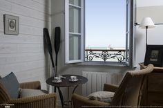 Un Bateau sous mon Transat, maison de pêcheurs rénovée en gite-maison de famille en Normandie, Les Filles du Bord de Mer *. - Côté Maison