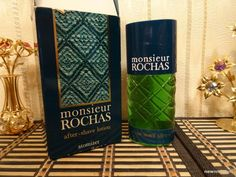 Monsieur Rochas for Men 100ml. After shave lotion Vintage by MyScent on Etsy